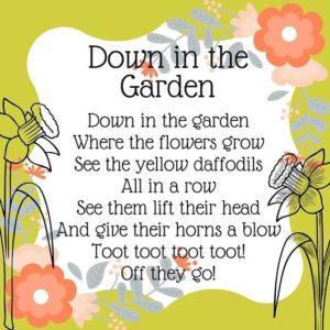 garden storytime ideas