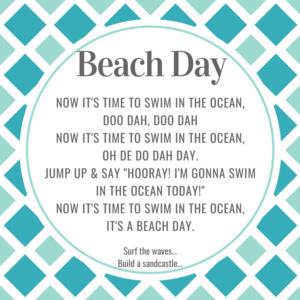 beach storytime ideas