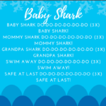 ocean storytime ideas baby shark