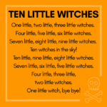 Halloween storytime ten little witches