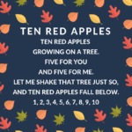 fall storytime ideas ten red apples