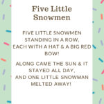 Five Little Snowmen Storytime