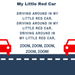 My Little Red Car Storytime