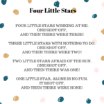space storytime four little stars